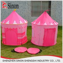 Newly hot selling pink roof top tent kids play princess tent