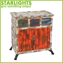 hot sell rustic furniture mdf wood cabinet