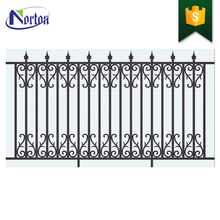 low factory price used wrought iron fencing for sale NT-CI035D