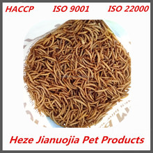 Custom Labeling 1lb 2lb 3lb 5lb 11lb Bulk Package Natrual Dried Mealworm
