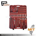 "Taiwan Tools Knurl Design 1/4"", 3/8"", 1/2"" Dr. 176pcs Bits & Hand Socket Set, bit socket set, hand socket, socket wrench set"