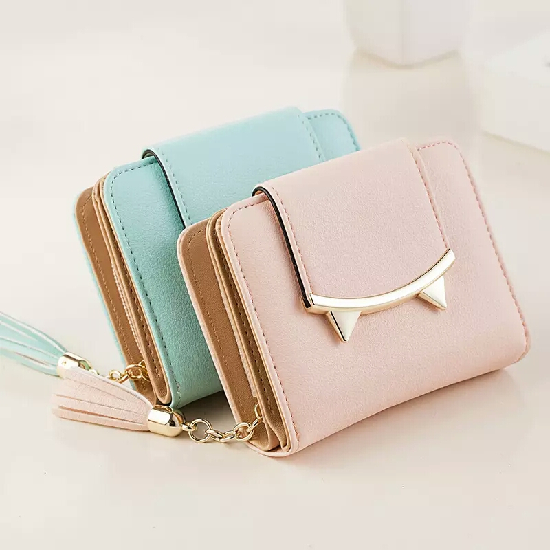 multifunction Purse Credit Card Wallet for Lady oem