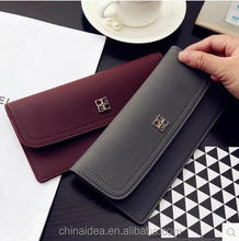 Fashion Trendy Multi-functions Leather Wallet Women Travel Document Passport Holder/Phone Purse