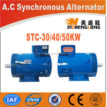 Diesel engine electric brushless st single pahse stc three phase generator starter dynamo cat alternator