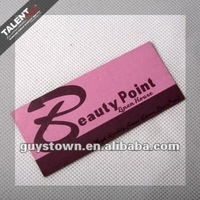 custom private design specially effect paper business card