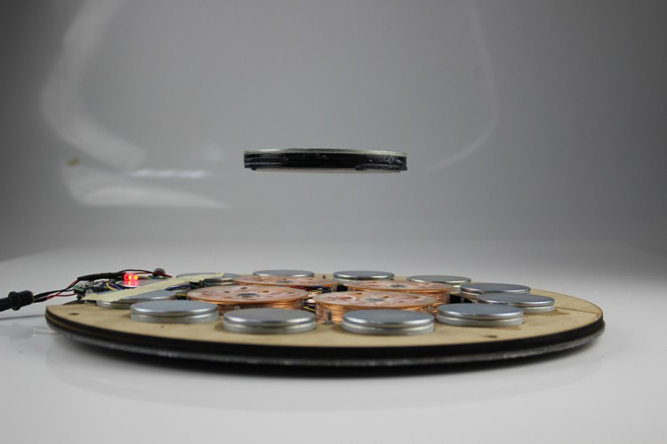 Super high levitation distance 80 MM magnetic levitation device