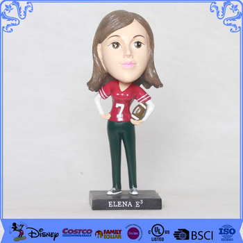 Factory price resin statues bobble head