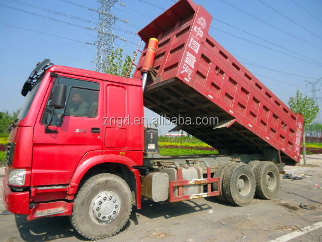shanghai used condition year 2013 nice Howo 25t dump truck for sale second hand dump truck in shanghai with good condition