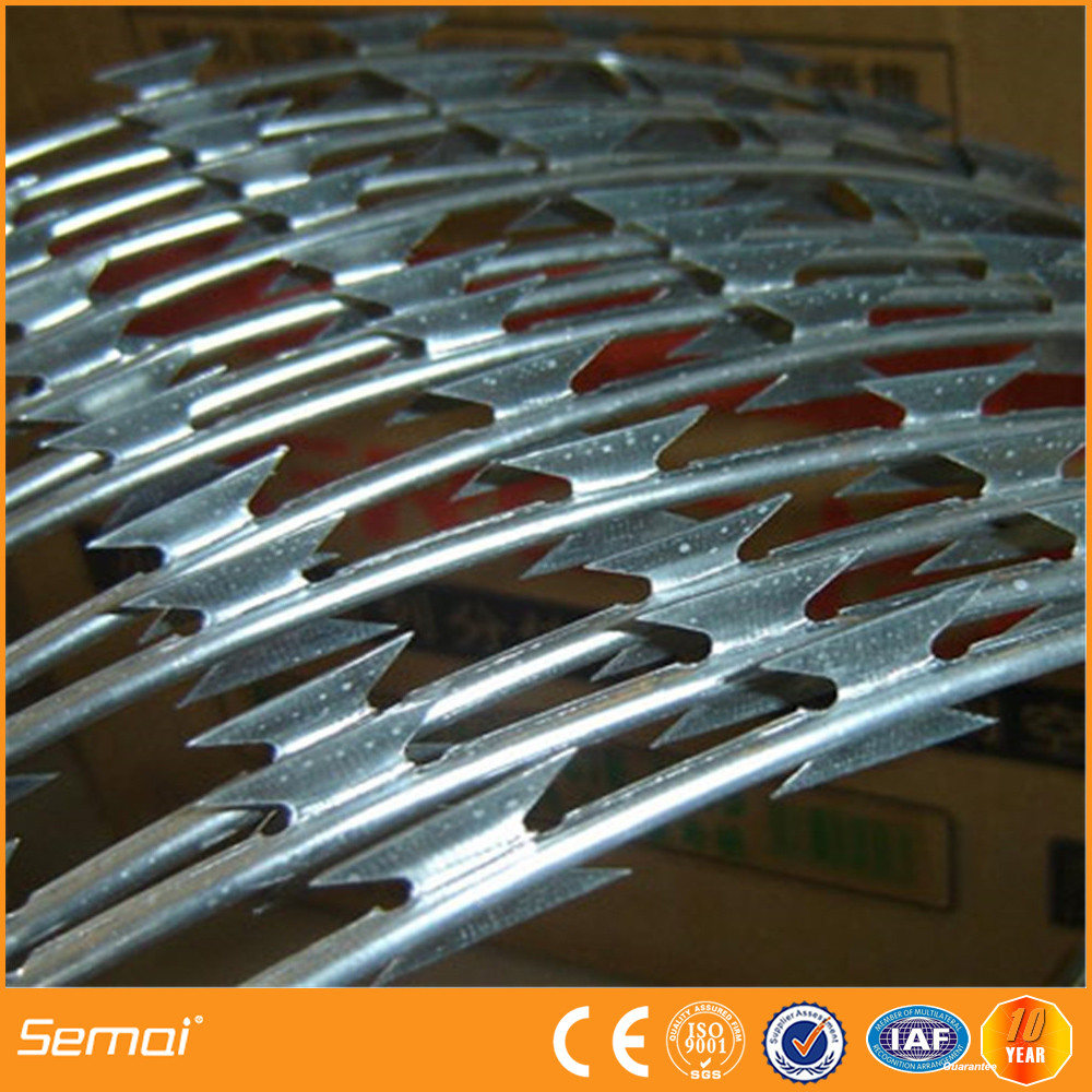 online shopping india hot dipped galvanized steel razor wire factory hot sale