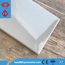 2017 Fashionable Oyster Gray Ceramic kitchen Tiles 10x40cm Made in China