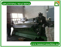 Razor leather tannery splitting machine for cow skin