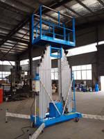 Double mast hydraulic personal lifting kits