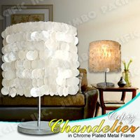 Capiz Shell Table Lamp Shades Philippines Products