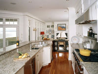 Modern kitchen cabinets counter top/kitchen table