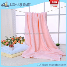 BB-MD-002 baby supplies 100% organic cotton cut pile blanket