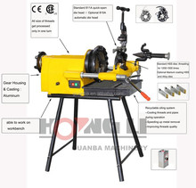 SQ50F electric pipe threading machine with CE &CSA,factory price