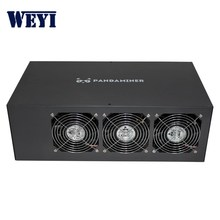 Hot sale Full set Pandaminer B3 plus ETH Mining Machine 230MH/s RX470*8 better than Antminer L3+ S9
