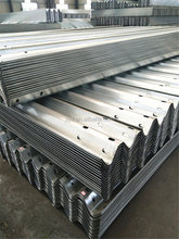 Two Way Metal Galvanized Highway Bridge Guardrail Systems