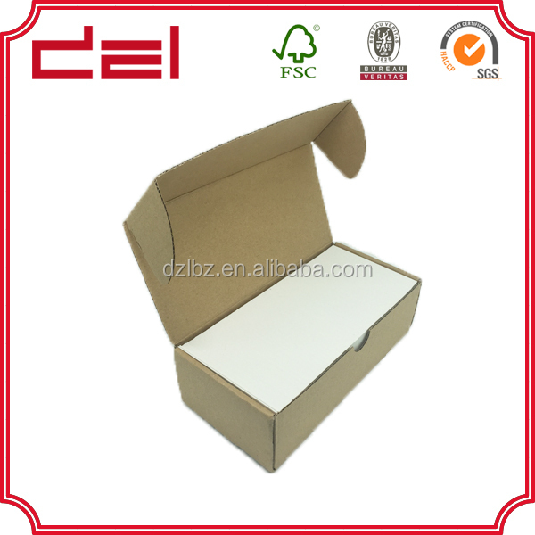 Corrugated carton box for leather shoes