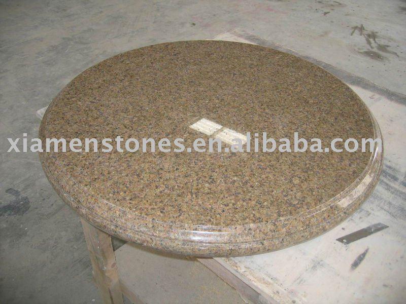 Granito mesas redondas g682 encimeras y tapas for Encimeras del sur