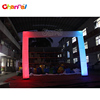Colorful inflatable led arch for advertising inflatable lighting arch