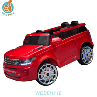 WDBBH118 Fashion Children's Toy Car To Sit In SUV Model With Four Wheel Suspension