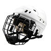 Nine color! youth ice hockey player helmet,sktes hockey protective accessories steel face shield mens