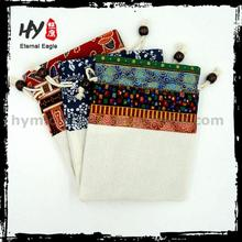 All purpose velvet jewellery drawstring pouches, good quality jute jewelry pouch, shopping jewellery pouch packing