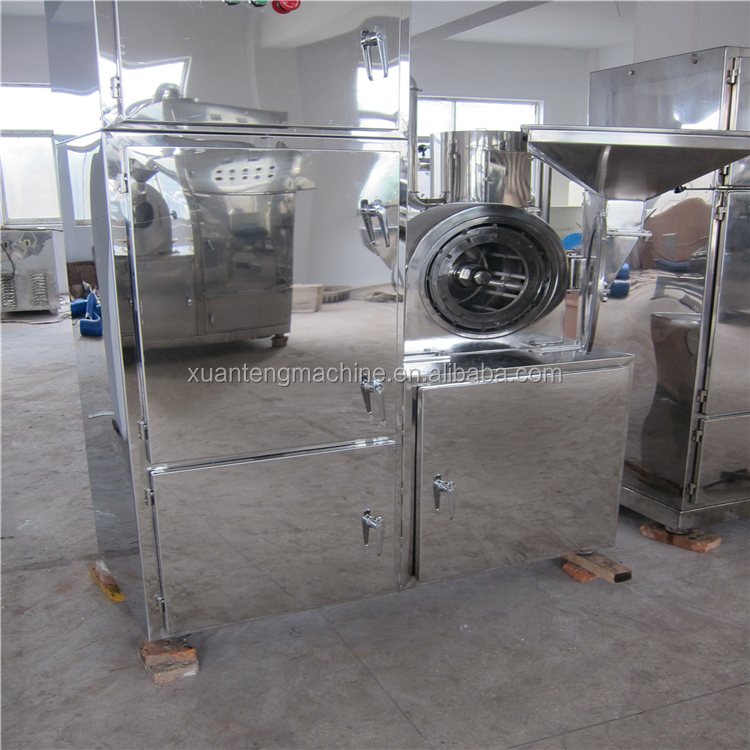 Chinese herbal medicine powder grinding machine
