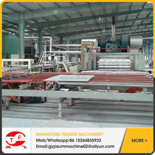 High quality Gypsum board cutting machine 595x595,600x600,603x603 with reasonable price