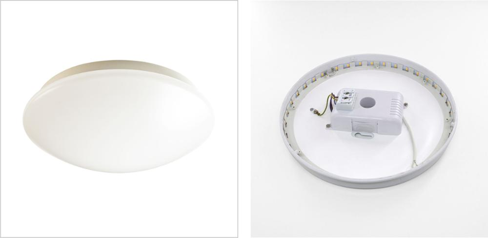 SAA IP44 12W,18W,24W,30W Ceiling light Surface Mounted LED Oyster Light with Microwave Sensor