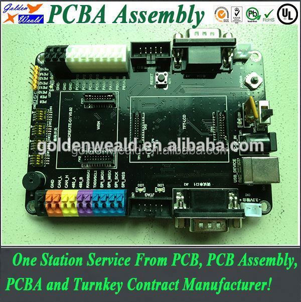 pcb pcba assembly for microcomputer main electronic control board/scc with bga assembled dip smt pcba