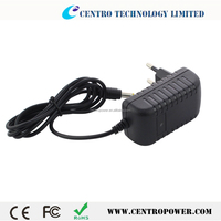 Wall plug 12V 2A EU US UK AU switching power adapter for LED lighting CCTV camera