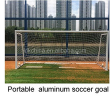 Professional aluminium football soccer goal for training