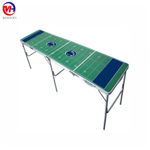 outdoor 8 foot white beer pong table