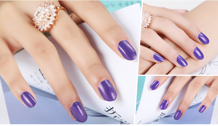 Bluesky nail uv gel 80530 Purple Purpose ,UV LED Gel Soak Off Nail Polish 10ml