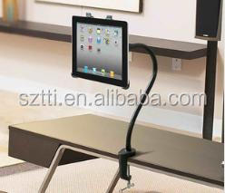 2014 Hot sale Universal free standing Gooseneck Arm lazy man flexible tablet stand