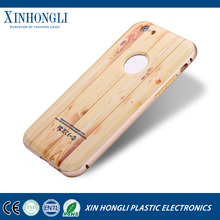 Metal Bumper + Nature Wood Back Case Cover For iPhone 6 6 Plus