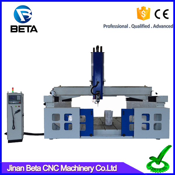 Professional equipment foam CNC vertical cutting machine cutter for wood design