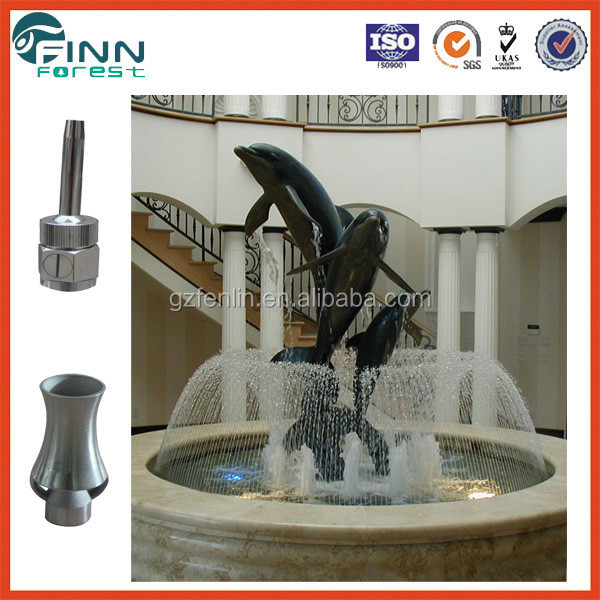 Modern garden dolphin water fountain