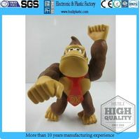 anime cartoon king kong pvc figurine,collected animal action figure cartoon toys