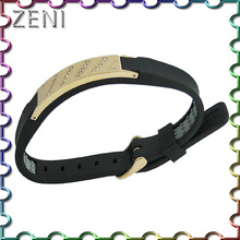 lowest ex-factory price High-quality silicone energy bracelet