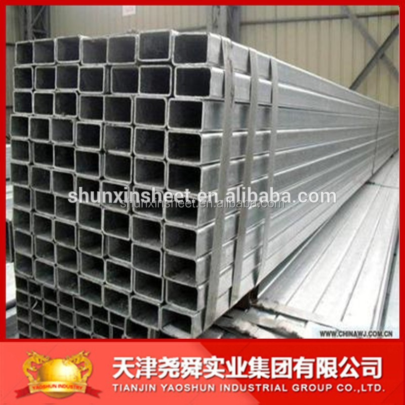 Q235 Gi Welded Rectangle Steel Pipe; Structural Steel Material