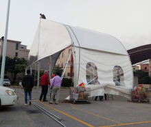 Fashion design large aluminum frame TFS event rental wedding tent for Costa Rica