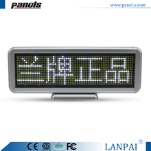 Factory supply programmable usb charge led advertising light board