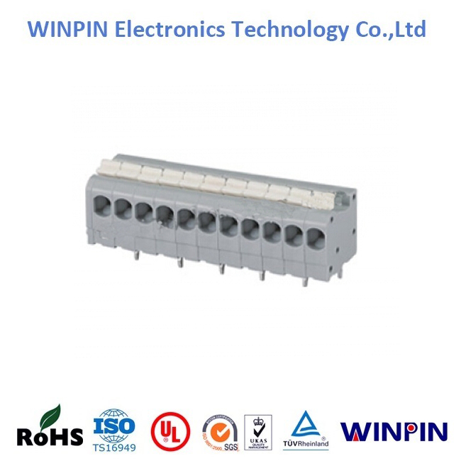 High Quality3.50mm Pitch,WP260 Screwless Terminal Blocks ,UL approved.