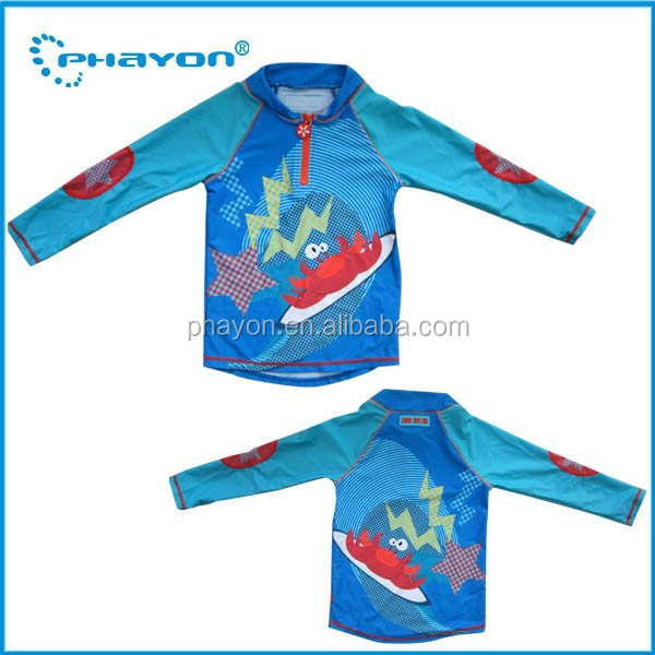 OEM&ODM Chlorine water resistant swimming suit,spf 50+ sun protection beach wear for kids