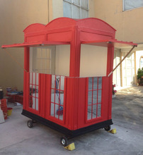 2017 cell phone booth,public phone booth,economic movable booth