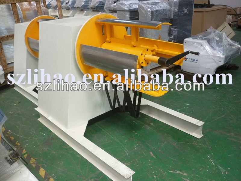 sheet decoiler of lihao machine