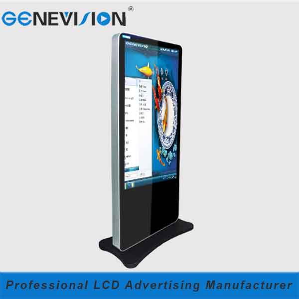 hot sell 55inch mirror lcd digital signage massage rooms led advertising display (MAD-550CTP)